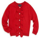 Oscar de la Renta Toddler's, Little Girl's & Girl's Ruffled Cardigan