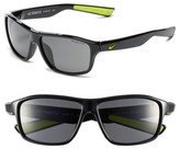 Nike 59Mm 'Premier 6.0' Performance Sunglasses - Black/ Volt