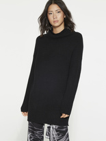 Halston Cozy Funnel Neck Sweater
