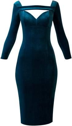 Chiara Boni Apolly Dress Teal