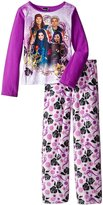 Disney Big Girls' Descendants Fleece Pajama Set