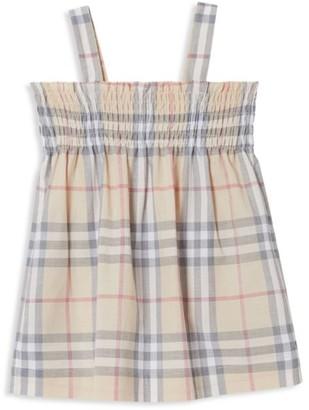 Burberry Baby Girl's Joan 2-Piece Checker Dress & Bloomers