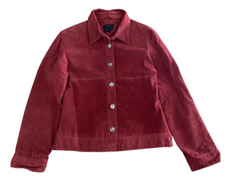 Zara Red Suede Jackets