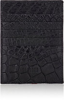 Barneys New York Men's Large Card Case-BLACK