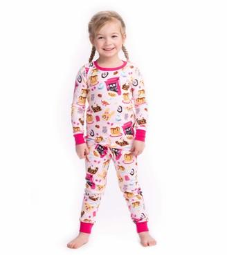 Hatley Girl Organic Cotton Long Sleeve Printed Pyjama Sets
