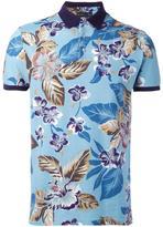 Etro floral print polo shirt - men - Cotton - XL