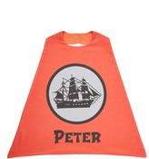 Red Pirate Ship Personalized Cape