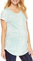 A.N.A a.n.a Short Sleeve Scoop Neck T-Shirt-Womens Maternity