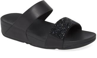 FitFlop Sparklie Crystal Embellished Slide Sandal