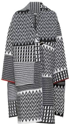 Stella McCartney Intarsia virgin wool cardigan