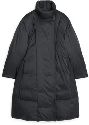 Arket A-Line Down Puffer Coat