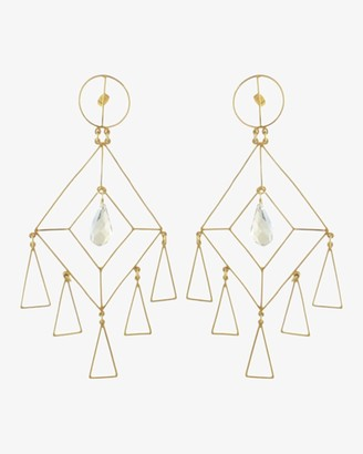 Mercedes Salazar The Girl Crystal Earrings