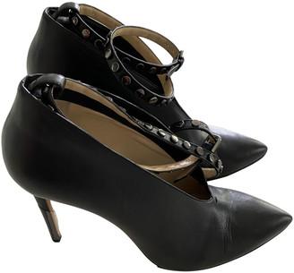 Jimmy Choo Lark ankle strap pump Black Leather Heels