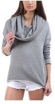 RtA Women's Abel Oversize Cowl-Neck Sweater