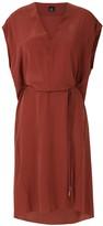 OSKLEN V neck silk dress