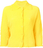 Issey Miyake Angle Cauliflower jacket - women - Polyester - One Size