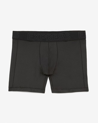 Express Black Mesh Performance Boxer Briefs