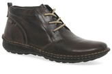 Pikolinos Dark Brown 'chile' Leather Lace Up Ankle Boots