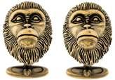 Gucci monkey-head cufflinks