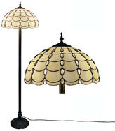 AMORA Amora Lighting AM1044FL16 Tiffany Style Cascades Floor Lamp 61 Inches Tall