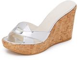 Stuart Weitzman Over It Wedge Slides