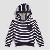 Joe Fresh Baby Boys' Long Sleeve Stripe Hoodie