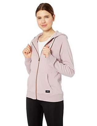 Obey womens Comfy Zip Hood Fleece