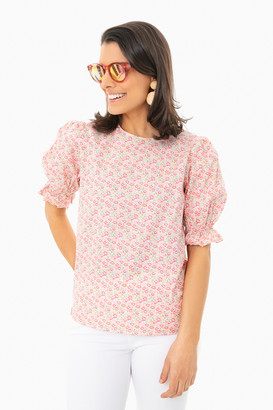 ENGLISH FACTORY Floral Bee Blouse