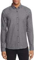 HUGO Checked Long Sleeve Regular Fit Button-Down Shirt