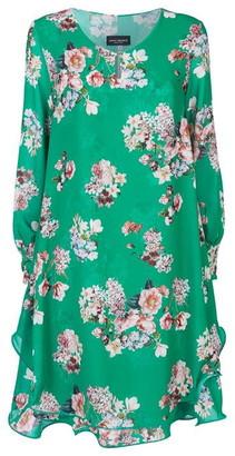 James Lakeland Long Sleeve Print Wave Hem Dress