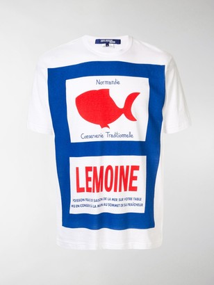 Junya Watanabe Fish print T-shirt