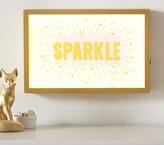 Pottery Barn Kids Framed Light Up Decor - Sparkle