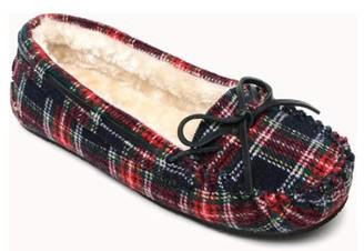 Portland Boot Company Moccasin Faux Suede Slipper (Women's)