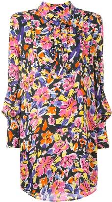 Rebecca Vallance Soho long sleeve mini dress