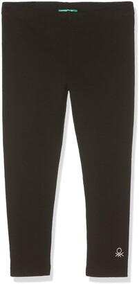 Benetton Girl's Leggings Grey (Grigio Melange 501) XXS 100cm(3-4 Years )