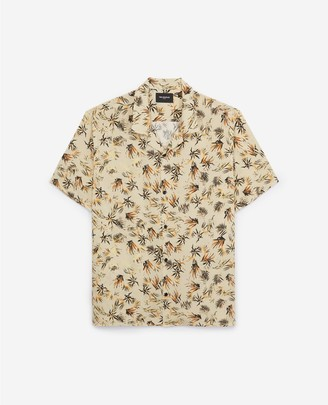 The Kooples Loose-fitting printed shirt w/short sleeves