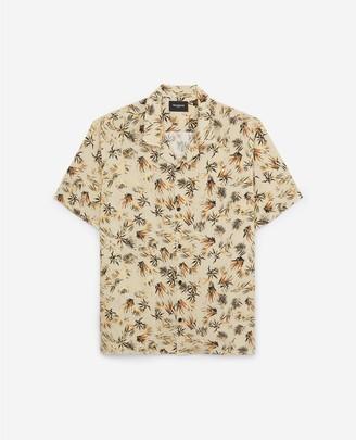 The Kooples Loose-fitting printed shirt w/short sleeves