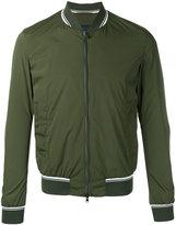 Herno striped detail bomber jacket - men - Polyamide/Spandex/Elastane - 46