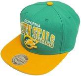 Mitchell & Ness Stack California Golden Seals Snapback EU092 Cap Basecap Mens