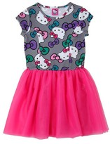 Hello Kitty Girls' Dress - Grey