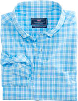 Vineyard Vines Ocean Beach Check Performance Classic Murray Shirt