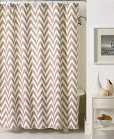 Kassatex Bath Accessories, Chevron Shower Curtain