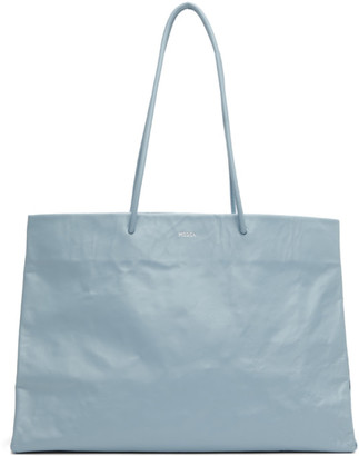 Medea Blue Dieci Busted Tote