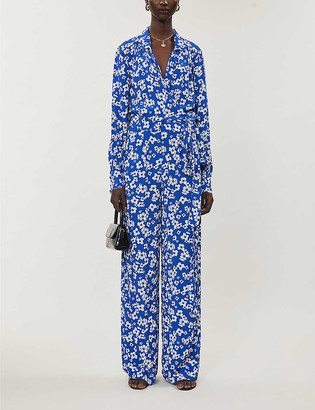 Ghost Floral woven jumpsuit