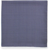 Lanvin Four-Color Houndstooth Pocket Square