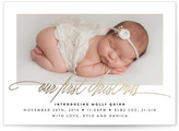 Minted Our First Christmas Holiday Birth Announcements