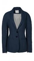 Tibi Hessian Linen Drop Shoulder Blazer