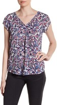 Daniel Rainn Double V Blouse