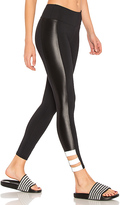 Lanston SPORT Beckett Reflector Legging in Black
