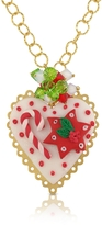 Dolci Gioie Christmas Heart Necklace